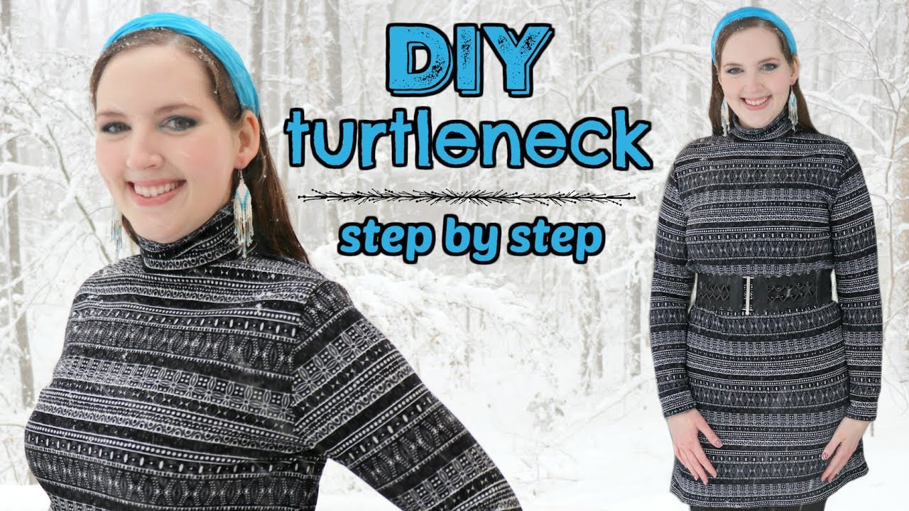 How to Make a Sweater Dress EASY! | Stretch Knit Fabric