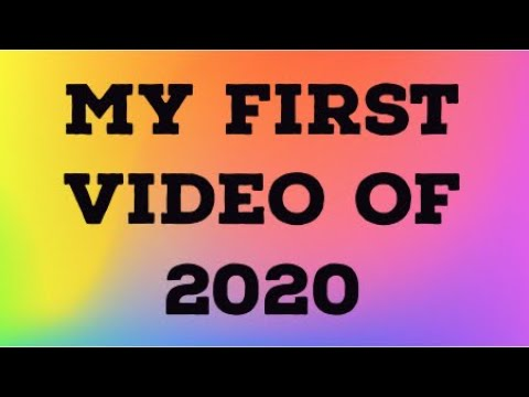 First Video of 2020!!