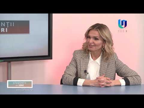TeleU: Marian Mocan la emisiunea Studenții de ieri cu Silvia Gherasim
