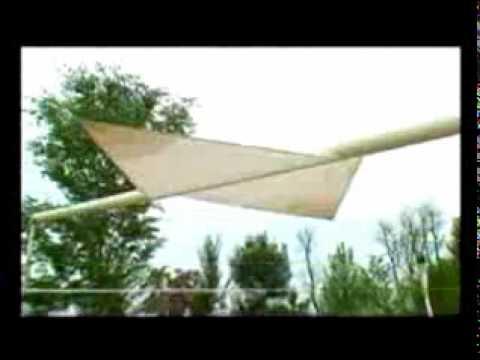 Tenda A Vela Avvolgibile : Tende vela lamapla youtube