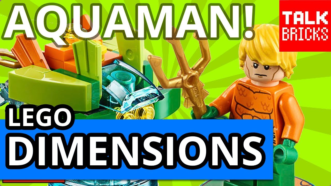 Lego Dimensions Fun Pack Aquaman DC Comics 71237