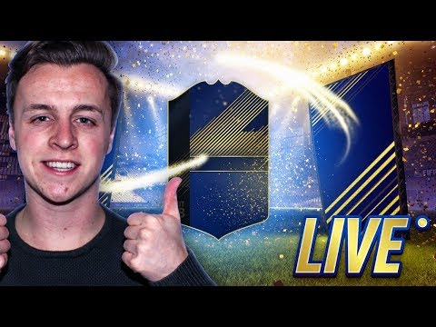 LIVE TEAM OF THE YEAR PACKS OPENEN - FIFA18!