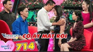Bạn Muốn Hẹn Hò 714 I Sắp đám cưới thì BẠN GÁI QUA ĐỜI, ông bố một con làm MC Quyền Linh NGHẸN LÒNG