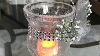 DIY Dollar Tree Mini Tree Lanterns Howto