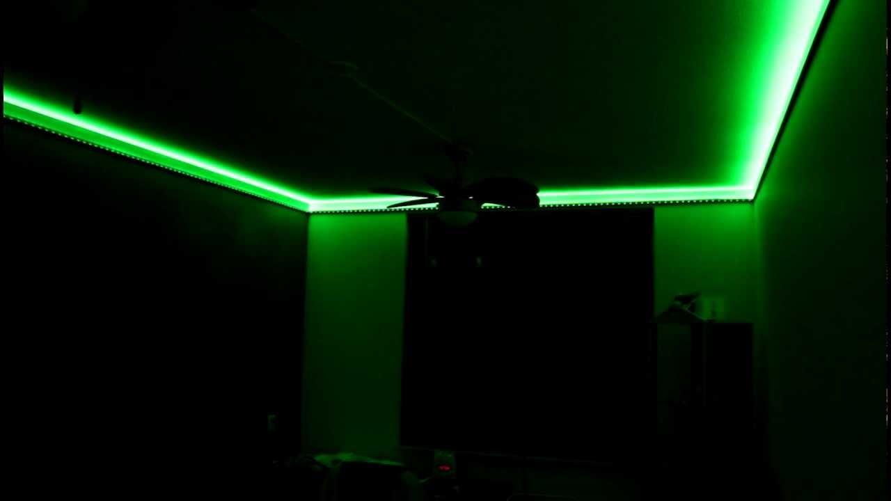 Rgb Verlichting Plafond Rgb Lighting Ceiling Youtube