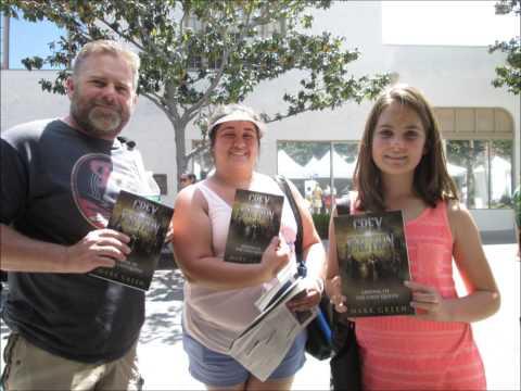 Mark Green at Los Angeles world book fair 2015 (+fanpicts)