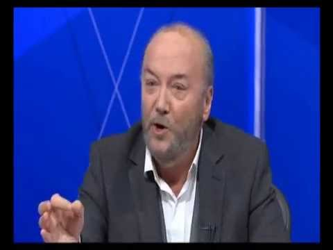 George Galloway: dangerous Zionism = Judaism game - BBC Question Time Finchley (05Feb15)
