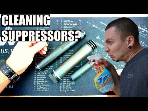 How to Clean Suppressors!