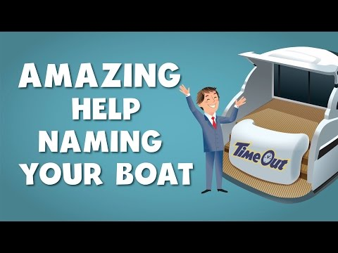 Amazing help naming your boat