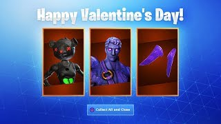 The NEW Fortnite VALENTINES DAY CHALLENGES! (Fortnite Valentines Skins)