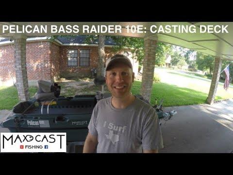 Pelican Bass Raider 10E: Casting Deck Build