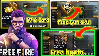 😎आ गया hyato Free Me -Free Fire New Event world seris || Claim your Prize For Completing Milestone.