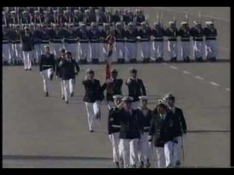 Gran Parada Militar 1992 (6) Armada de Chile