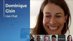 Skirennfahrerin Dominique Gisin im Live-Chat