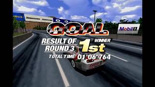 Sega Touring Car Championship Sega Model 2 Arcade Gameplay