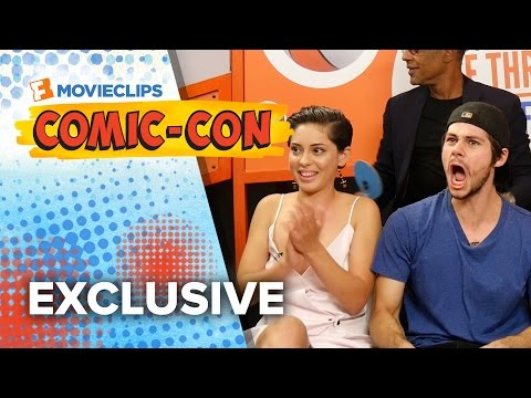 Name That Movie Game - 'The Maze Runner' Cast - Comic-Con (2015) HD