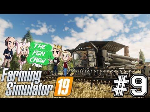 The FGN Crew Plays: Farming Simulator 2019 #9 - Poisonous Lamp Post thumbnail