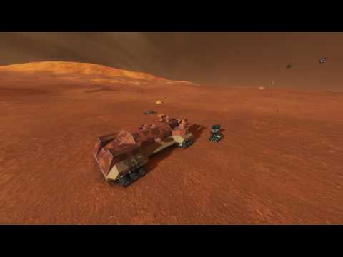 [SPACE ENGINEERS] Live Stream -Attempted land battle and multiplayer PvE
