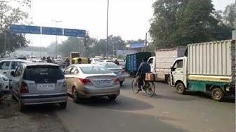 Karampura rd. Close to the Koenig TC in New Delhi in December