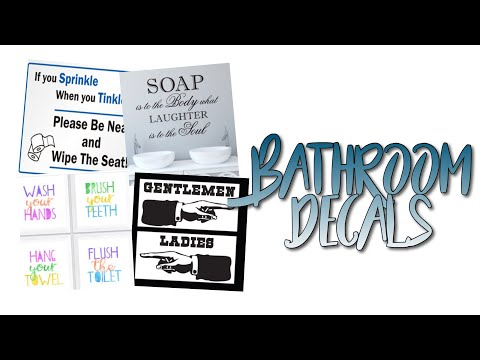 Roblox Bloxburg Bathroom Decal Id S Youtube