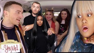 Harmonizer Reacts to Dancing With a stranger Normani and Sam Smith