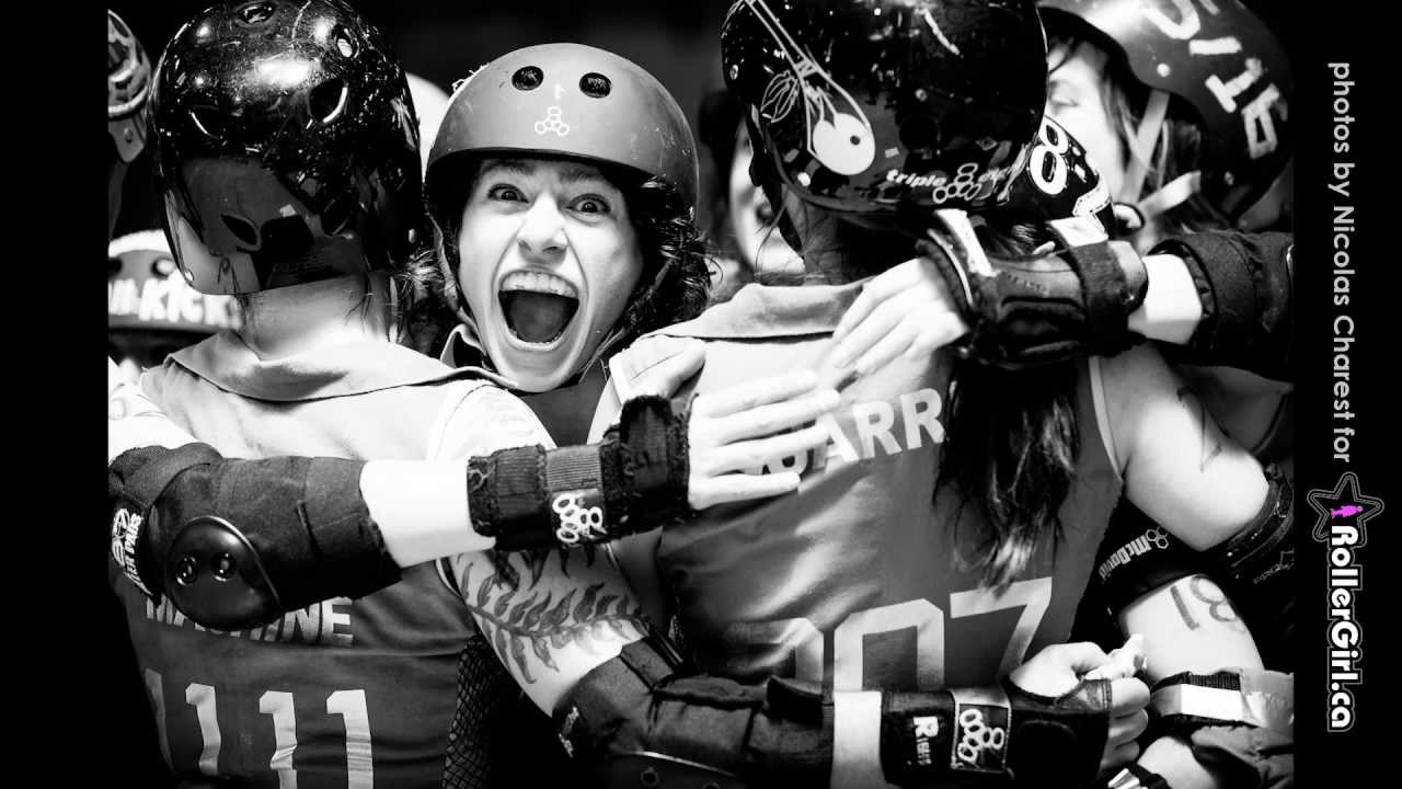 Roller Derby photography by Nicolas Charest