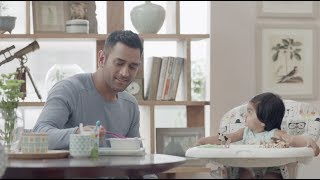 Breakfast Time With Dad | MS Dhoni | Exide Life Insurance | Partnerships for Life