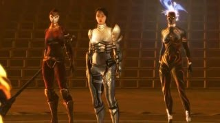 2nd Battle with Jeyne in Sanctum of Fire (Dungeon Siege 3) HD