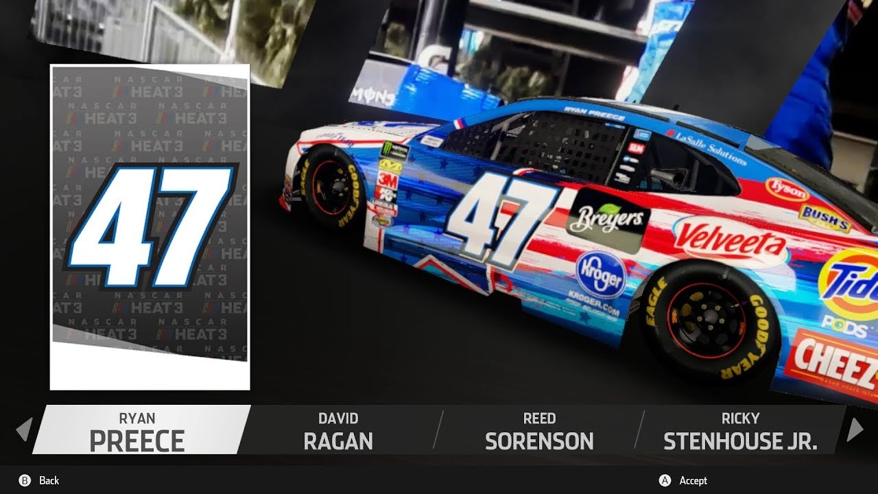 2019 NASCAR Cup Series Update for NASCAR Heat 3