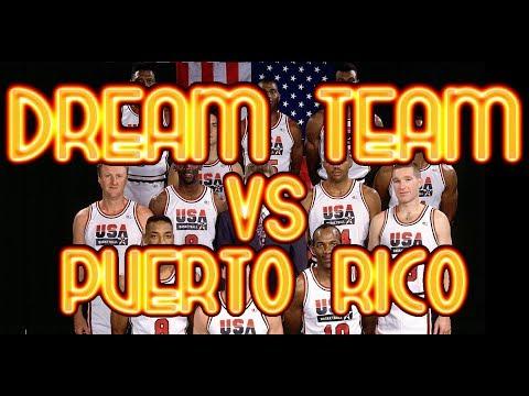 THE DREAM TEAM vs PUERTO RICO | AUG. 4TH, 1992 | PORTLAND, OREGON, USA