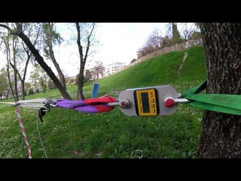 Méthode et test de backup corde pour la jumpline Slack Mountain