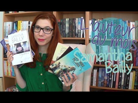 L'auteur du mois | Samantha Bailly