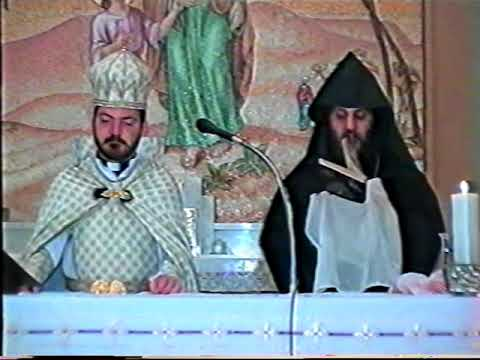 Karekin 2 Sarkisian in Abu Dhabi 1995 HOLY  MASS part 1