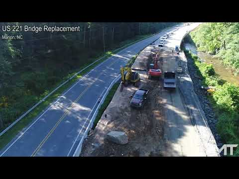 US 221 Bridge Replacement, Marion, NC