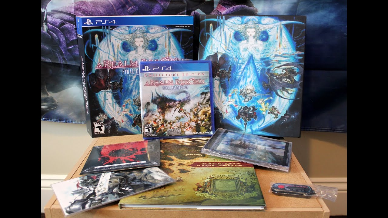 final fantasy xiv online complete collectors edition ps4
