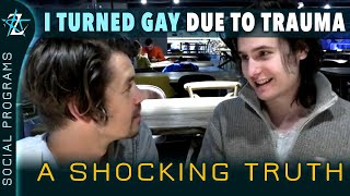 I turned GAY due to emotional trauma, I was not born that way!