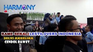 SELVI ANGELINA, CENDOL DAWET, JOGET BARENG LESTILOVERS INDONESIA