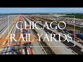 Chicago Rail Yards Captured By Drone