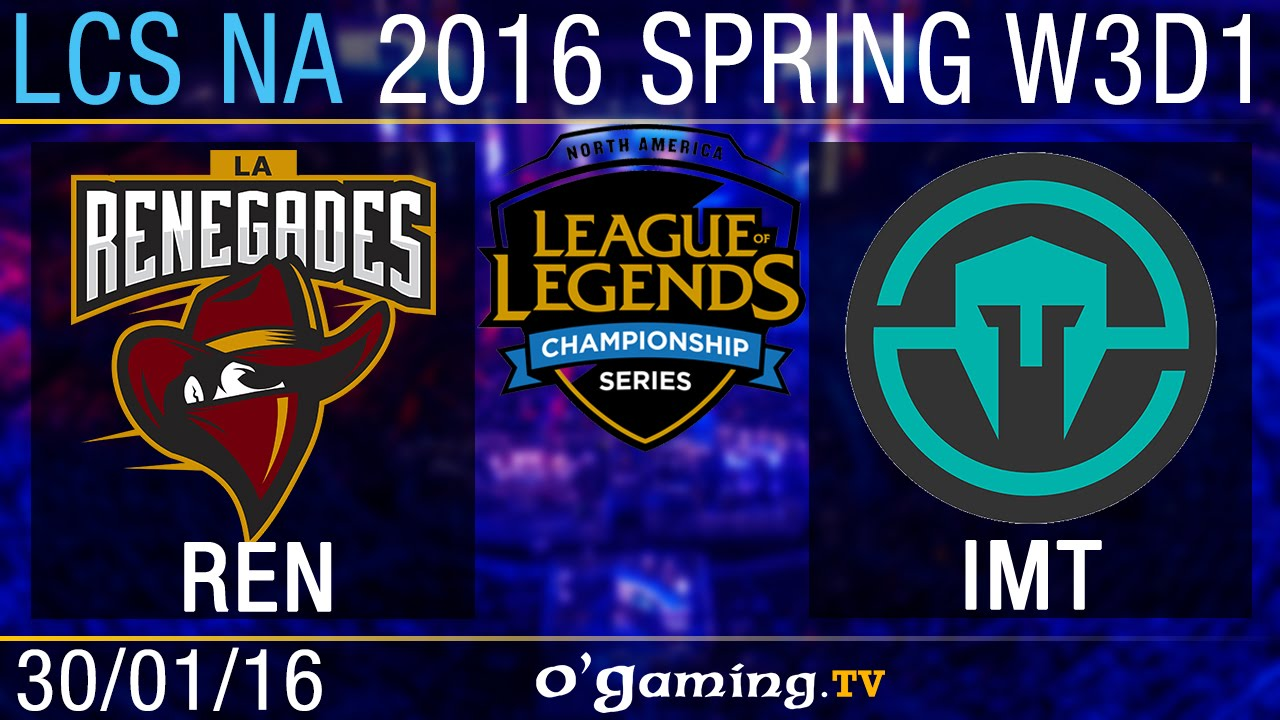 Immortals Vs Renegades