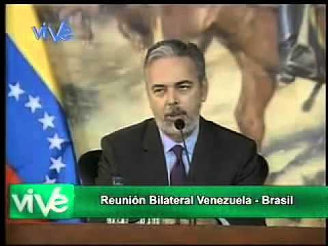 Visita à Venezuela. Pronunciamento do Ministro Patriota (09/02/2013) [em espanhol]