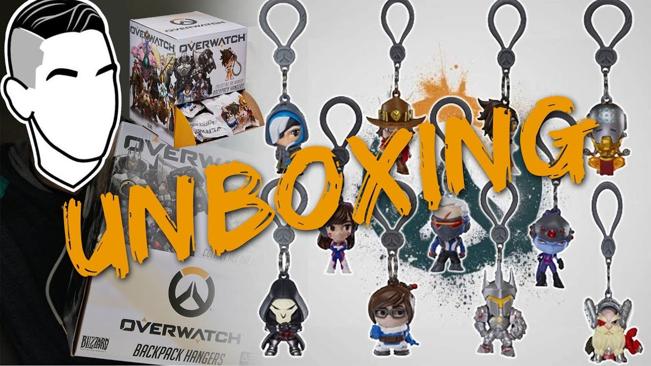 overwatch backpack hangers full