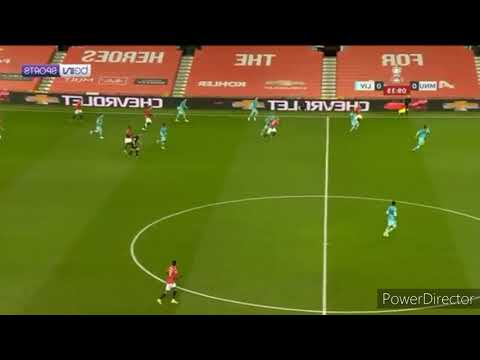Goal moment Manchester United vs Liverpool FA CUP 2021