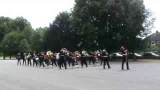 Royal Military School of Music Kneller Hall Pass Off August 2010 March Off