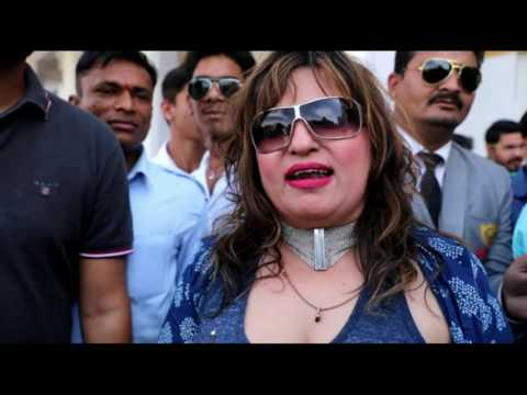 JODHPUR: Dolly Bindra reached Jodhpur to relax in spa