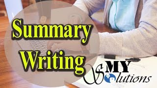How to Make Summary of an Article/Book Tutorial Urdu/Hindi