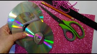 2 ИДЕИ поделок на пасху ИЗ CD ДИСКОВ, своими руками, подарки на пасху своими руками,, DIY,,