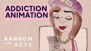 Social media addiction animation | Hiveminds by Gabriella Ditton | Short Film | Random Acts