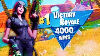 My 4000th WIN was with SNIPERS ONLY in Fortnite