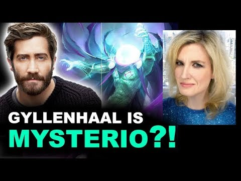 Jake Gyllenhaal is Mysterio in SpiderMan Homecoming 2