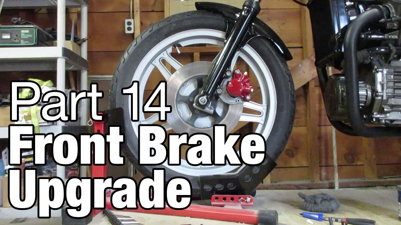 Front Brake Upgrades Cx500 Moto Fugazi Build Part 14 Youtube Wiring Diagram